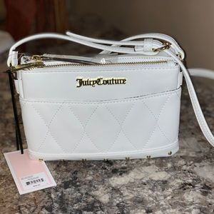 Juicy Couture mid crossbody with pull out pouch